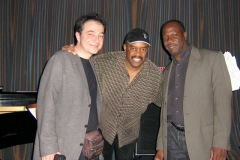 With Essiet Essiet & Bruce Cox, two dear friends and outstanding musicians!They perform on 3 of my CDs and many other projects - Tokyo 2006