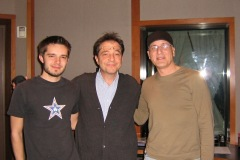 With Dae Bennett and Travis aux Studios Bennett, Englewood, NJ - 2007
