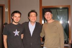 With Dae Bennett and Travis aux Studios Bennett, Englewood, NJ - 2007