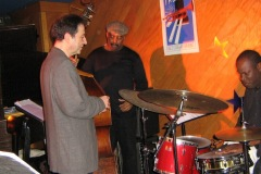 With Essiet Essiet & Bruce Cox au Trumpet, Montclair, NJ - 2006