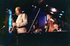 With Clifford Jordan, La Villa - 1991