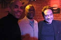 Trio With Darryl Hall & Steve Williams, Sunside, Paris Dec. 2015