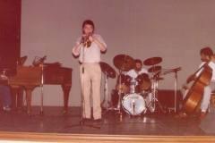 Le Lann 4tet avec Cesarius Alvim & André Ceccarelli, Monaco - 1985