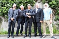 O.H, Gary Smulyan, Ralph Moore, Bernd Reiter & Stephan Kurmann, @ Bird's Eye, Basel. June 2018