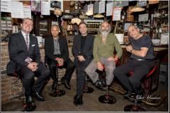 With Gary Smulyan, Ralph Moore, Stephan Kurmann, Bernd Reiter, Gouvy, Oct 2019