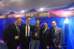 Guangzhou Jazz Festival, December 2017, with Jonathan Orland, Tony Rabeson & Géraud Portal